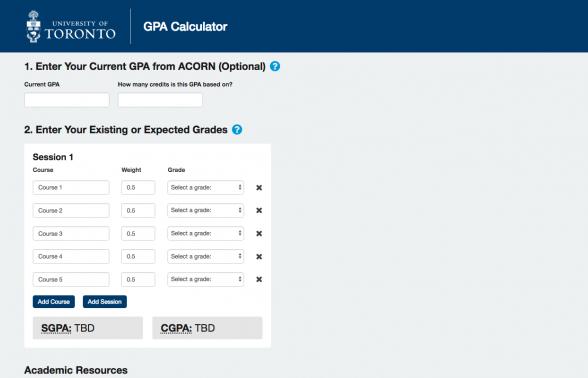 GPA Calculator 2018